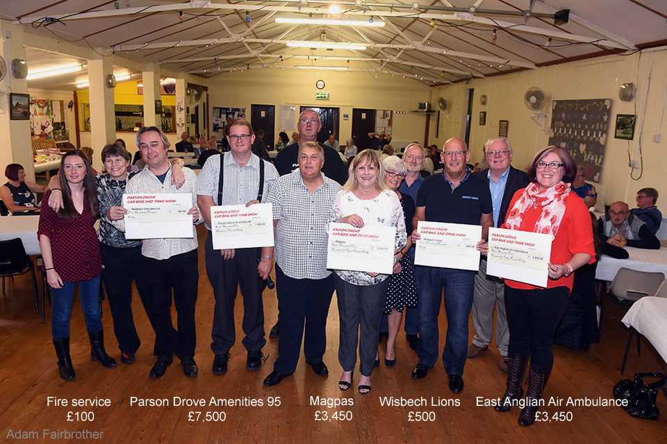 2018 Parson Drove Car Bike and Trike Show Presentation Night